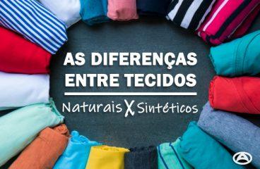 As diferenças entre tecidos naturais e sintéticos